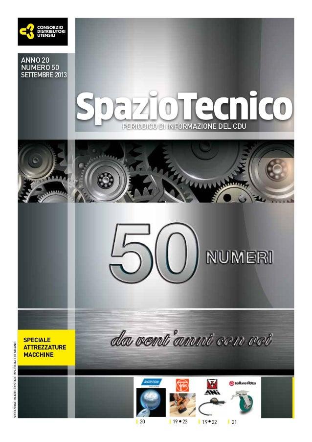 anno 20 numero 50 settembre 2013  SpazioTecnico  spedizione in abb. postale 70% filiale di milano  periodico di informazio...