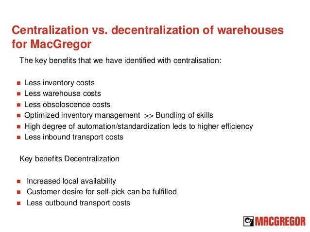 Centralized Vs. Decentralized Organizational Structure