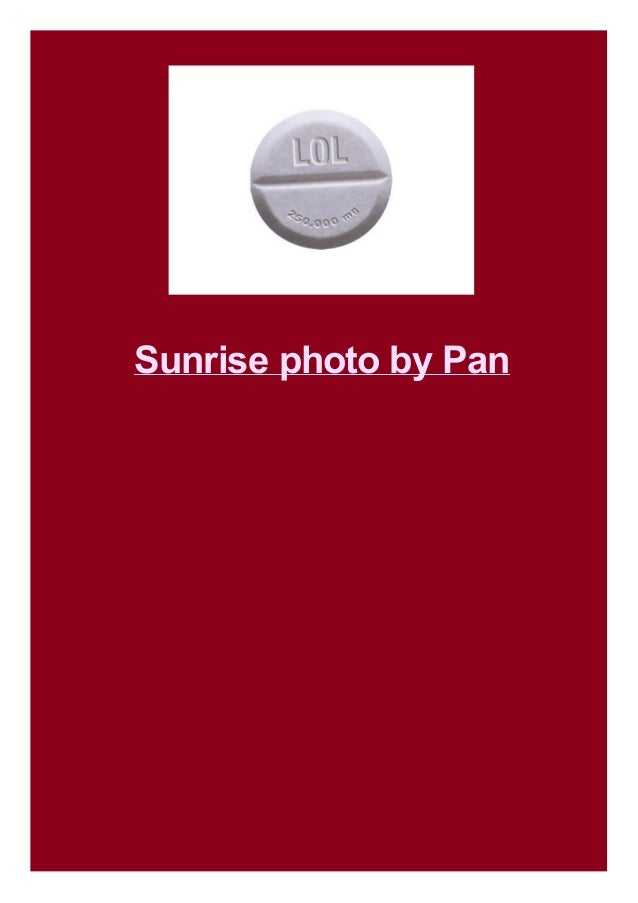 Sunrise photo by Pan