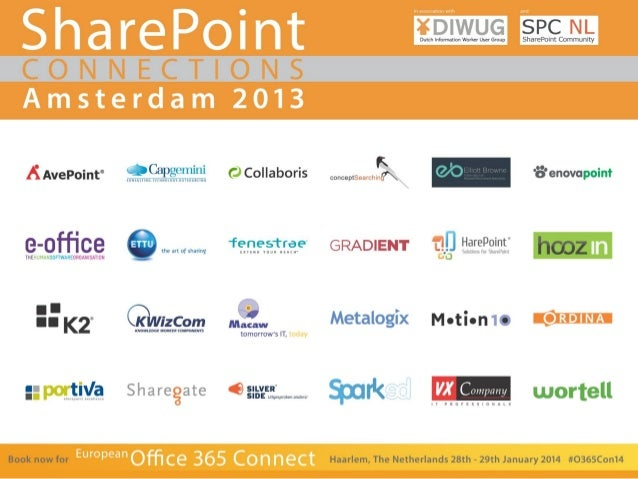 Mirjam van Olst  Best Practices & Considerations for Designing Your SharePoint Logical Architecture