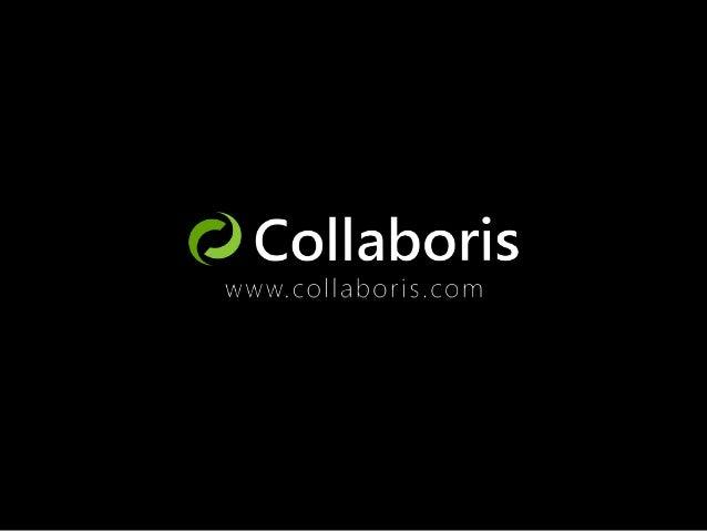Who are Collaboris? ■ SharePoint Software Vendor  Helen Jones  Account Manager Helen.Jones@collaboris.com www.collaboris.c...