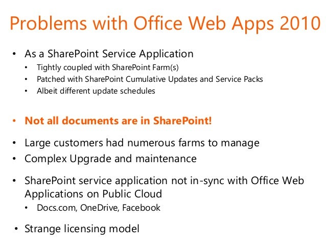 Office Web Apps 2013 Office Web App ...
