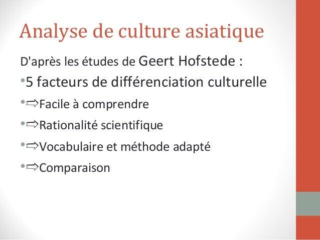 """Projet ficitf """"bien communiquer avec un public asiatique""""  Slide 2"""