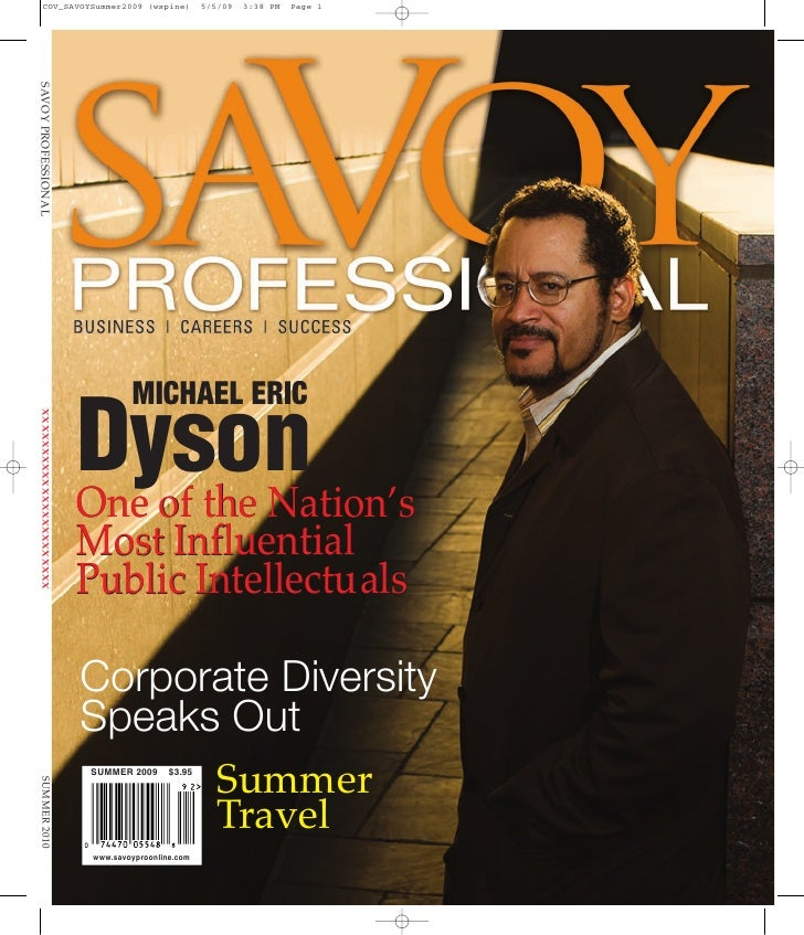 MICHAEL ERIC  Dyson One of the Nation's Most Influential Public Intellectuals  Corporate Diversity        Summer Speaks Ou...