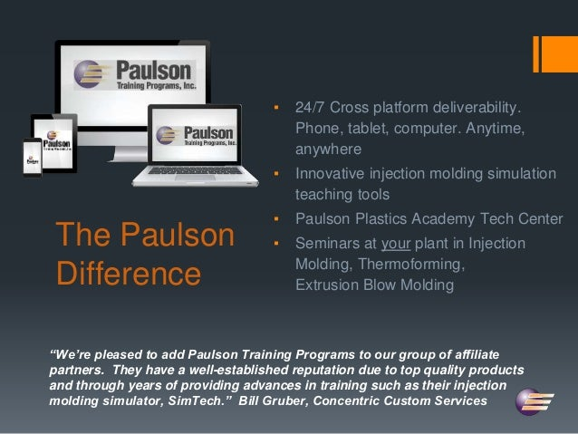 SPE Injection Molding Training Presentation