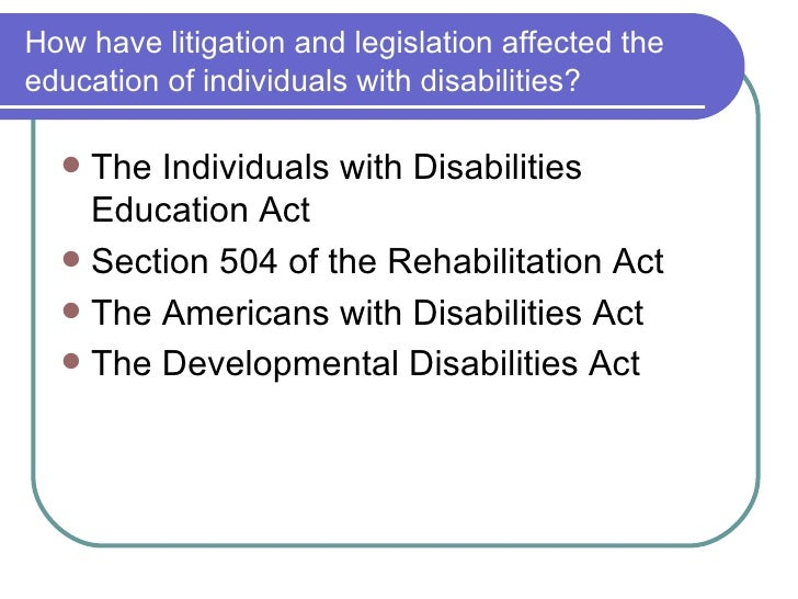 the objectives of the rehabilitation act and the americans with disabilities act 1973 November 2009 page 1 of 5 the americans with disabilities act, the fair housing act, and the rehabilitation act of 1973, as amended, all apply to domestic violence.