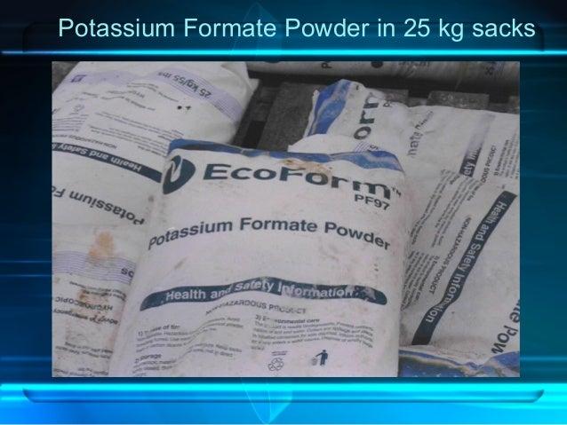Potassium Formate Powder in 25 kg sacks