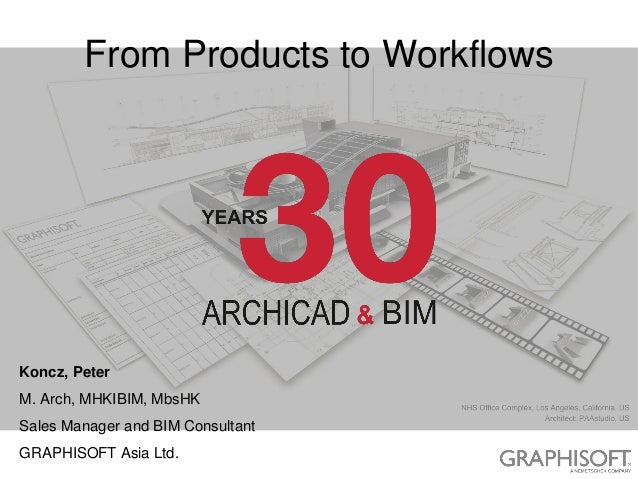 BIM Workflows: from Products to Practice - Mr  Peter KONCZ