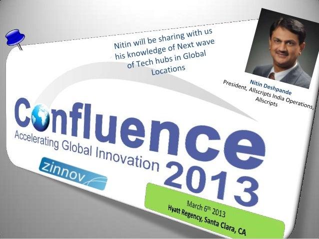 Confluence2013 Speaker Update: Nitin Deshpande