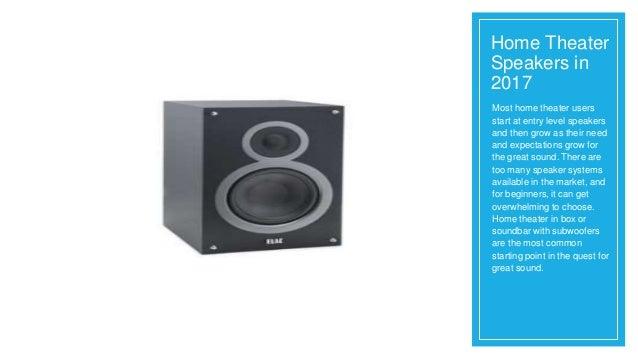 speakers in box. home theater speakers in 2017; 2. speakers in box n