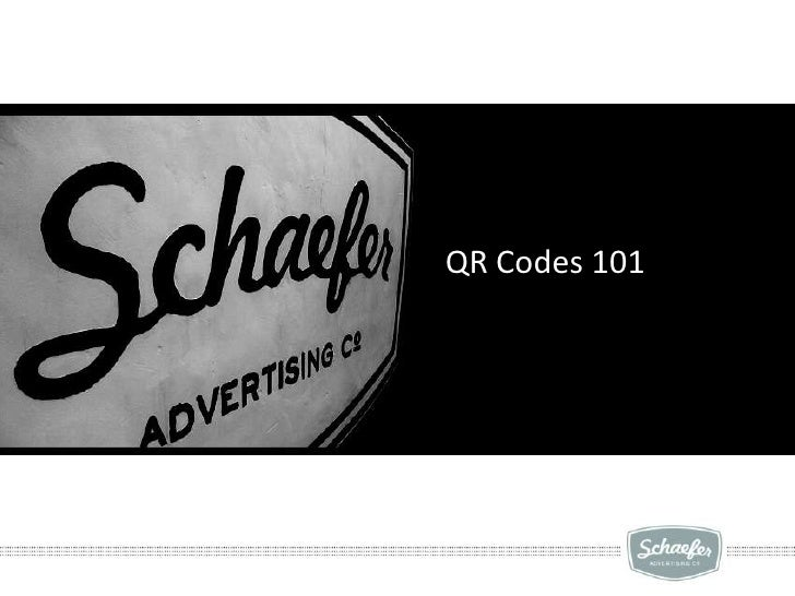 QR Codes 101