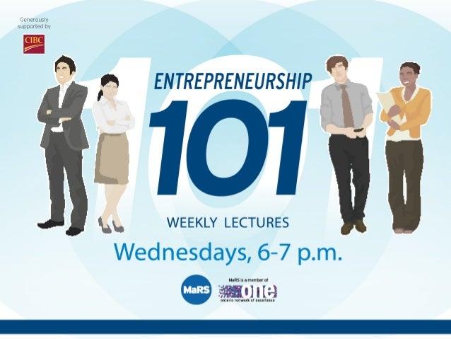 Workforce of the Future is Upon Us - Entrepreneurship 101 (2012/2013) Slide 2