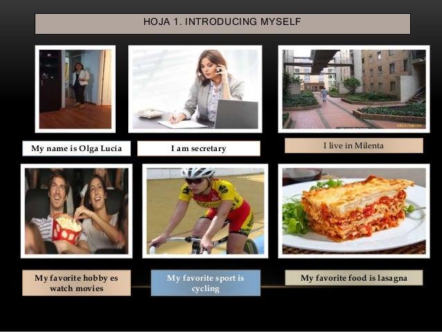 Speaking assignment (Actividad práctica) Slide 2