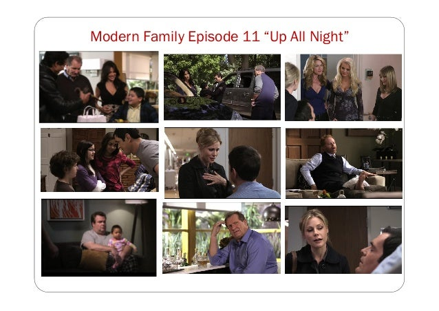"""Modern Family Episode 11 """"Up All Night"""""""