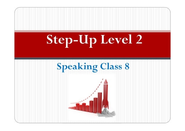 Speaking Class 8 Step-Up Level 2