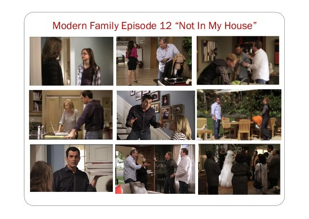 """Modern Family Episode 12 """"Not In My House"""""""