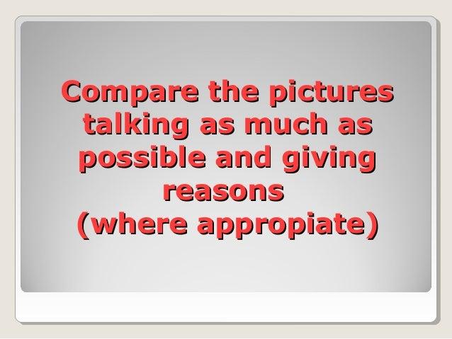Speaking comparatives superlatives Slide 2