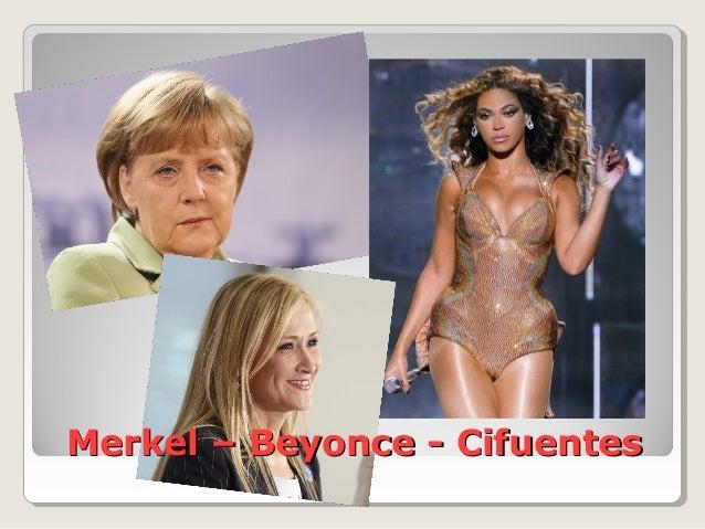 Merkel – Beyonce - CifuentesMerkel – Beyonce - Cifuentes