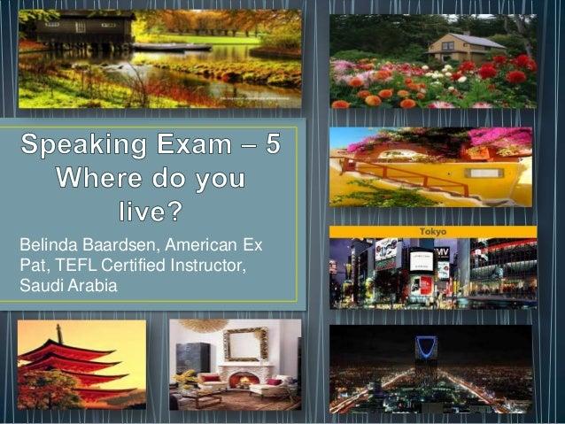 Belinda Baardsen, American ExPat, TEFL Certified Instructor,Saudi Arabia