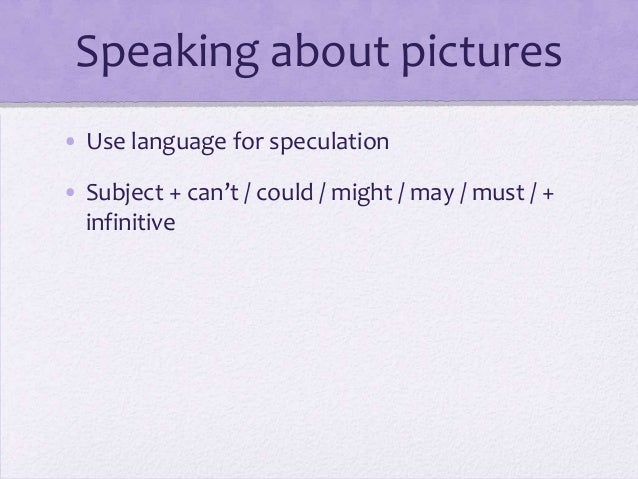Speaking practice FCE part 2 Slide 3