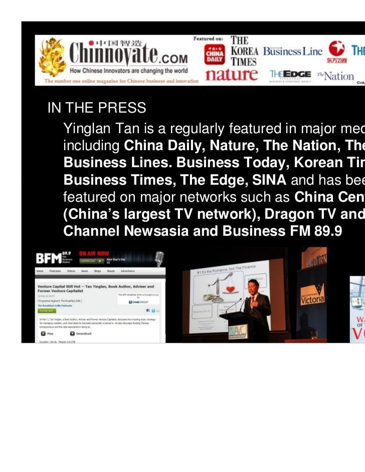 Speaking kit (Tan Yinglan) Slide 2