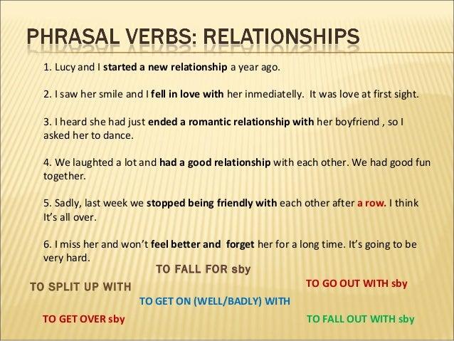 Speaking, part 3 relationships Slide 2
