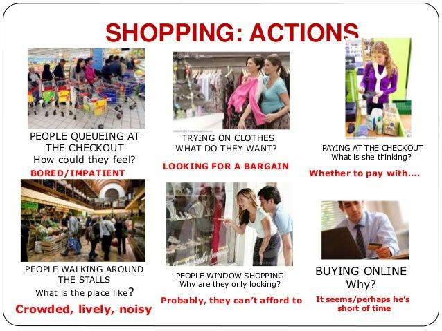 Speaking Part 3 Shopping