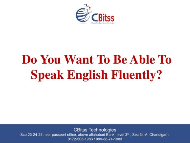 how to learn and speak english fluently