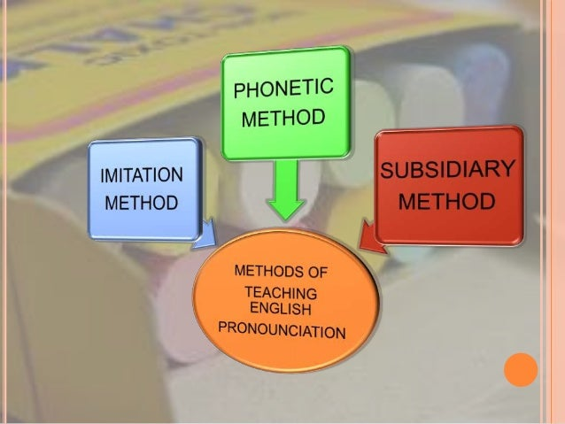 IMITATION METHOD In this method teacher present a good model of speech and ask the student to intimate them.