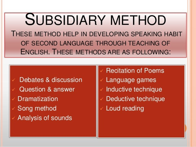 SUGGESTION TO IMPROVE THE SPEAKING ABILITY ☻Oral training of language material helps student in learning speaking ability....