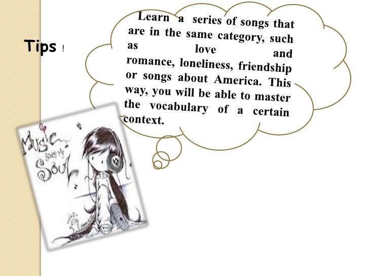 learning english from music Learning english adlı sanatçının lesson two (hello/goodbye), pandora's box ve daha birçoğu gibi müziklerini dinle learning english adlı sanatçının yeni.