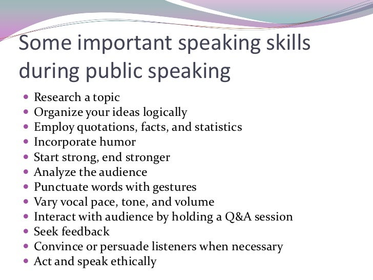 public speaking important essay The importance of public speaking can't be overstated feeling comfortable in front of a crowd will benefit you in many areas of your life, from jobs to relationships.