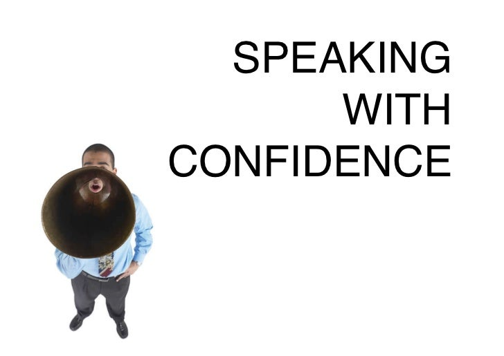 SPEAKING      WITHCONFIDENCE