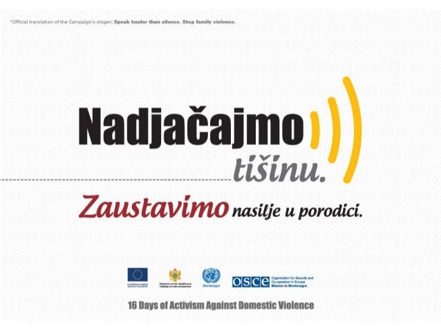 Family violence in Montenegro