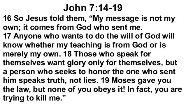 Speak Truth to Your Neighbor