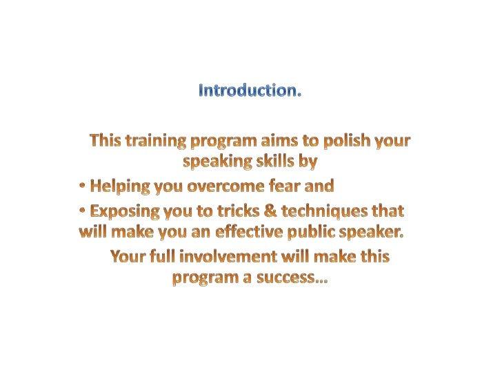 Speak your way to success Slide 2