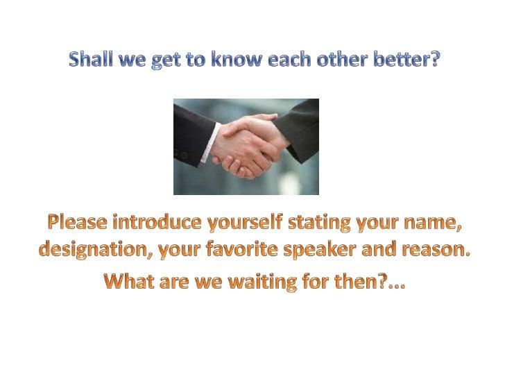 Speak your way to success Slide 3