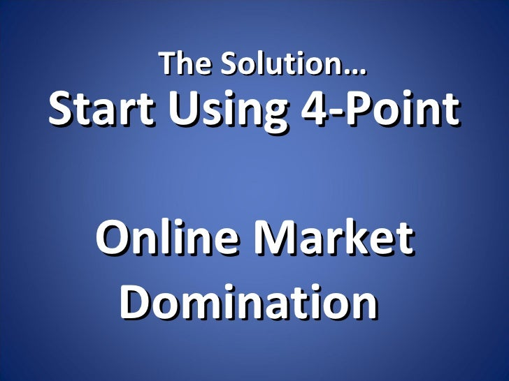 Local market domination online, bounded sex coed