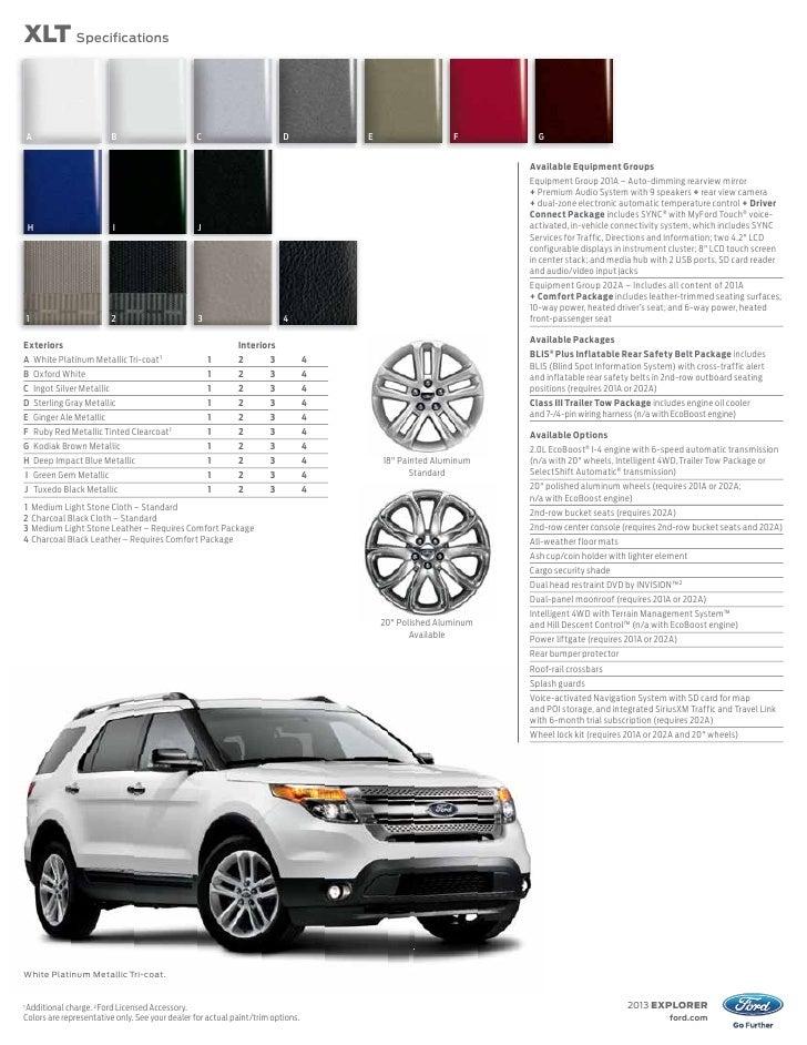 2013 explorer1 available feature fordcom 7 - 2013 Ford Explorer Cloth Interior
