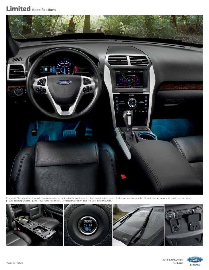 fordcom 8 - 2013 Ford Explorer Cloth Interior