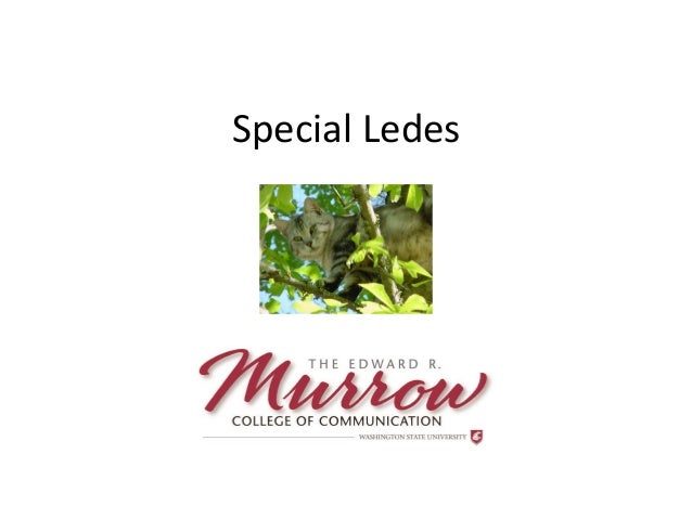 Special Ledes