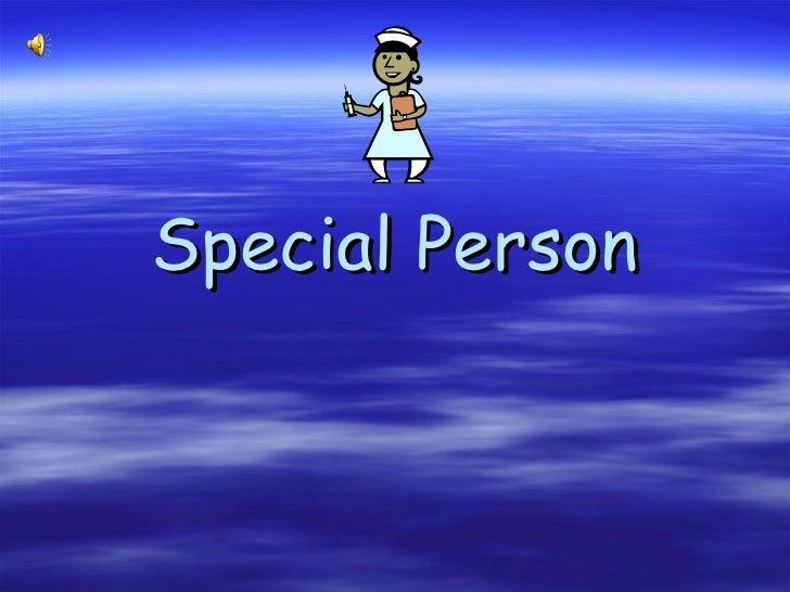 Special Person