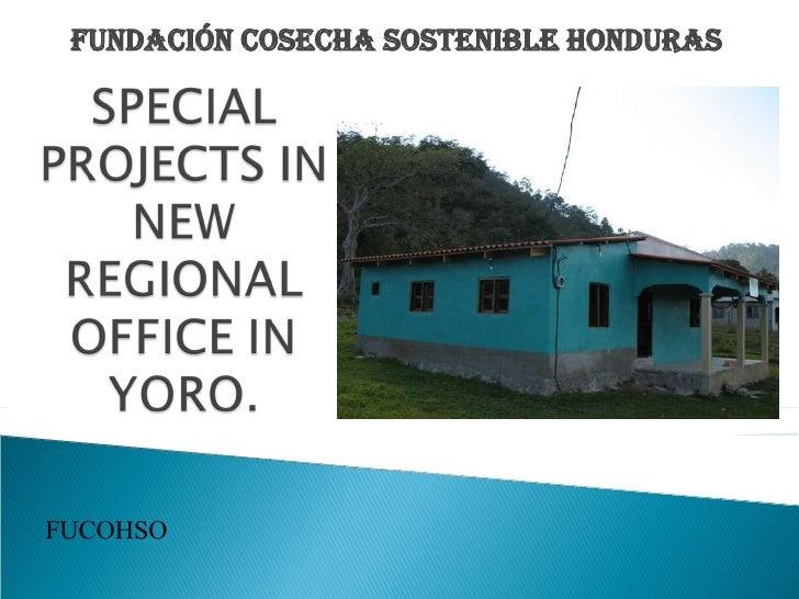 FUNDACIÓN COSECHA SOSTENIBLE HONDURAS FUCOHSO