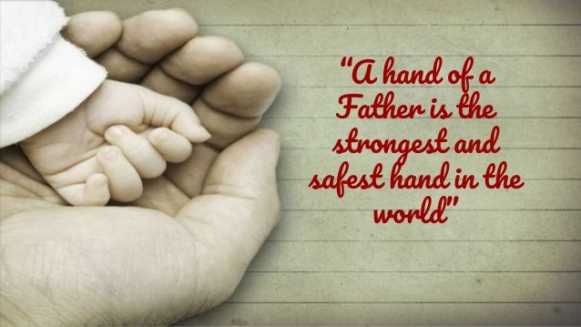 Image of: Poem the Greatest Gift Ever Had Came From God Call Him Dad Slideshare Special And Heart Touching Fathers Day Quotes 2017