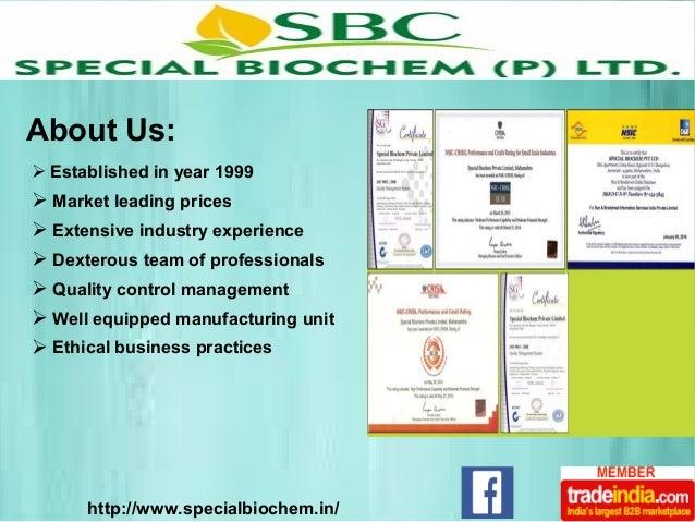 SPECIAL BIOCHEM PVT  LTD, Amravati, Maharashtra, India