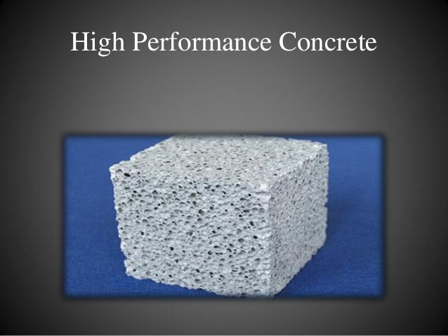 hpc high performance concrete In the recent years a tendency for design of increasingly slender structures with  the use of high performance concrete has been observed.