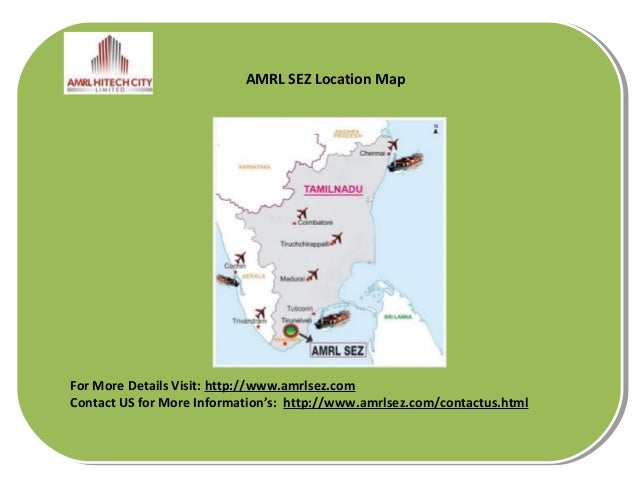 special economic zone in tamilnadu Tamil nadu), mahindra city (chennai, tamil nadu), mahindra city  a special economic zone, in accordance with the provisions of section 3(8) of the.