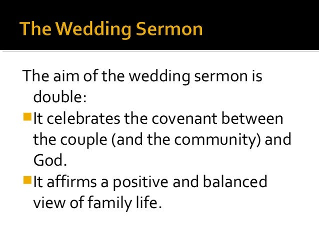 The Special Event Sermon