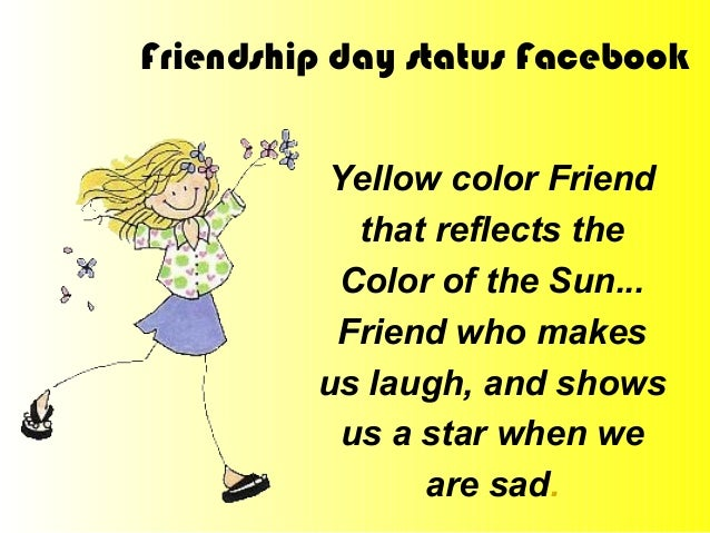what is the colour of friendship