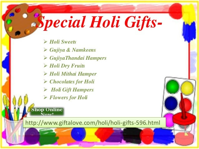Special holi gifts Slide 2